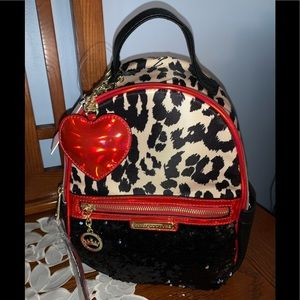 ❤️🎉JUICY 💎COUTURE BLING ANIMAL PRINT ❤️BACKPACK